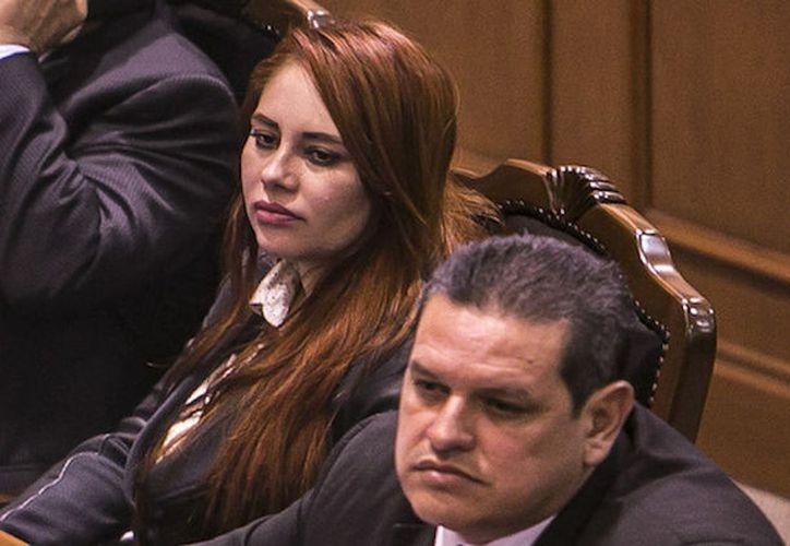La exlegisladora panista Lucero Guadalupe Sánchez López, que fue vinculada a El Chapo, fue arrestada el miércoles en San Diego, California. (Sin Embargo)