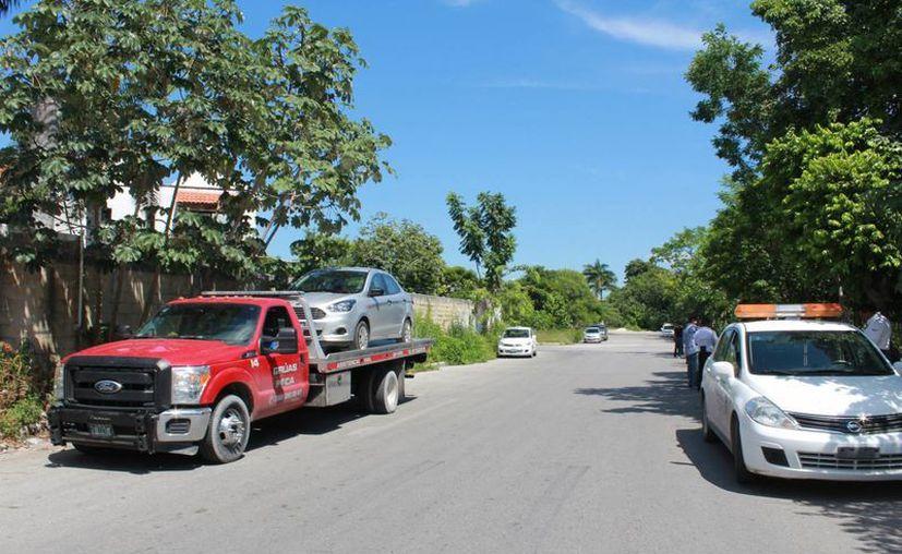 Autoridades municipales indican que no tienen injerencia en los operativos que realiza Sintra en Cancún. (Luis Soto/SIPSE)