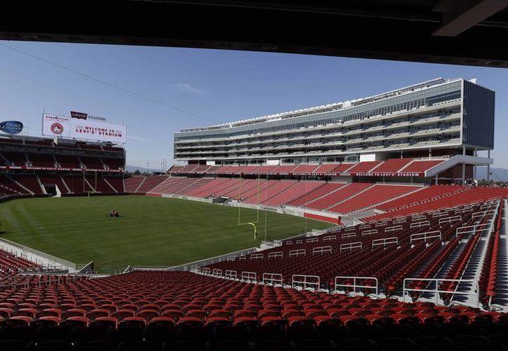 El nuevo estadio de los '49ers' tiene capacidad para 68,500 aficionados. (AP)