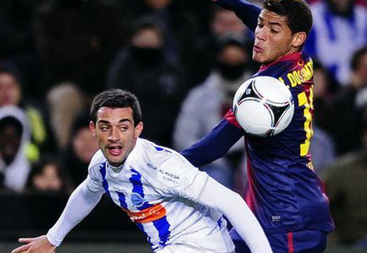 Dos Santos fue descartado a media semana para la vuelta de la Supercopa de España. (Foto: Agencias)
