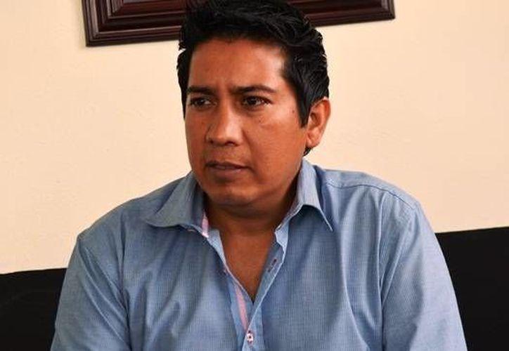 El titular de Seguridad Pública, Edgar Daniel Moncada, ya implementa una estrategia para mantener el orden en la cabecera municipal. (Omar Capistrán/SIPSE)
