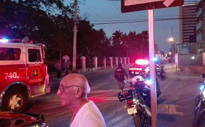 Derrumbe de edificio en Mérida deja cuatro muertos