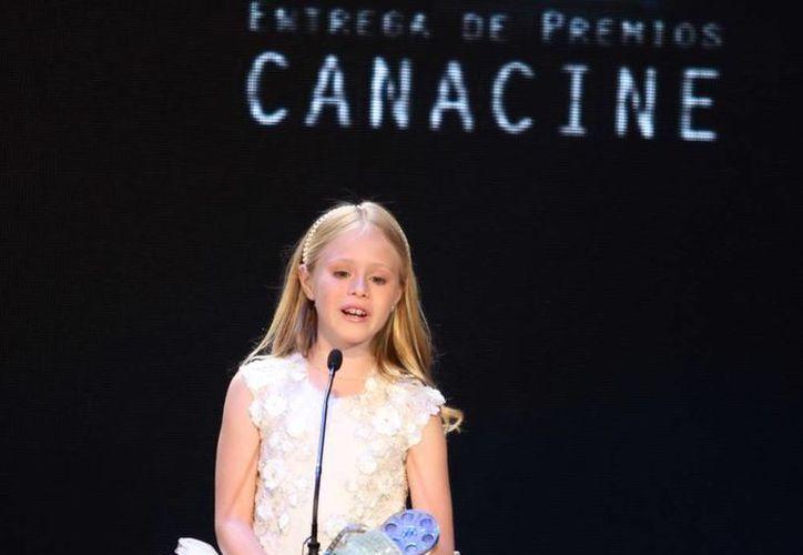 Loreto Peralta, 'De no se aceptan devoluciones', ganó la Diosa de Plata como promesa Fememina. (Archivo Notimex)