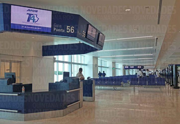 Piden solución a las irregularidades en la Terminal 4. (Jesús Tijerina/SIPSE)