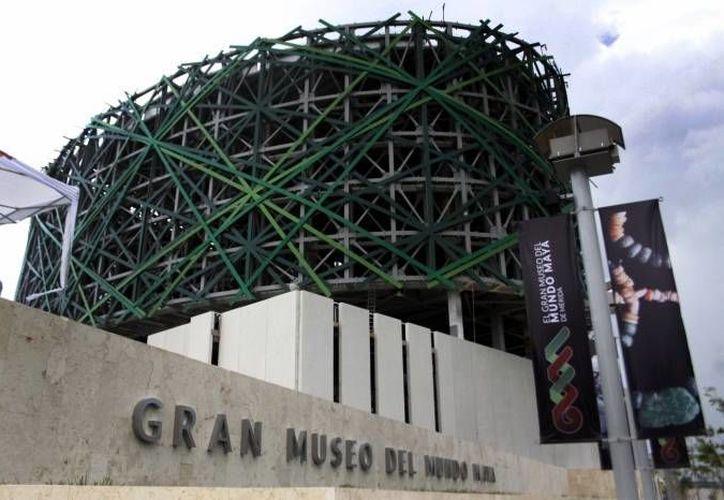 El Gran Museo del Mundo Maya es imponente y bello. (SIPSE/Archivo)