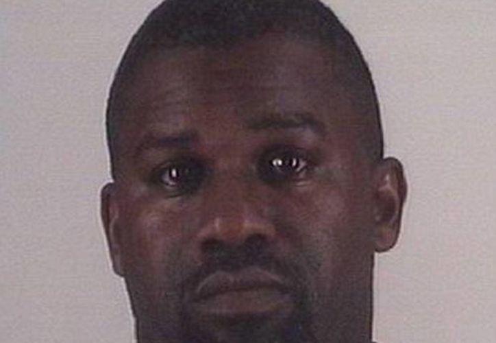 Martin ya había sido condenado en 2012 a pagar una multa por agredir a Hampton. (Tarrant Country Sheriff's Office)