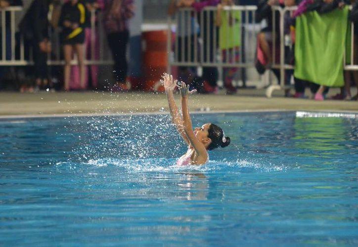 Nadadora.