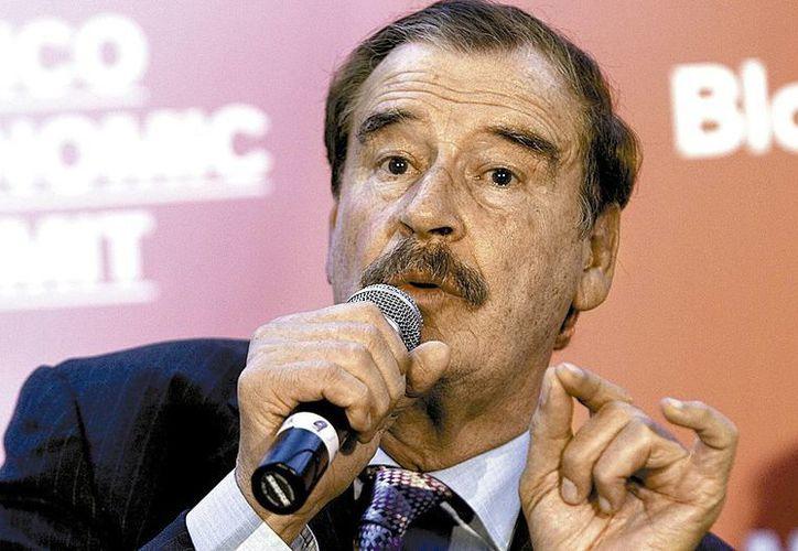 Vicente Fox, expresidente de México, fue entrevistado en su rancho de Guanajuato sobre los nuevos partidos. (Imagen de archivo/Milenio)