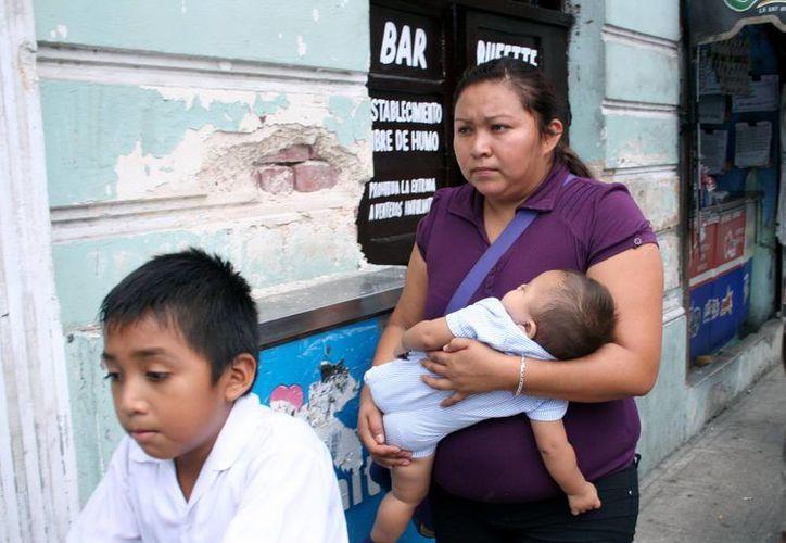 Los niños son los más afectados por el rotavirus. Hacen un llamado a los padres de familia a vacunarlos. (Milenio Novedades)