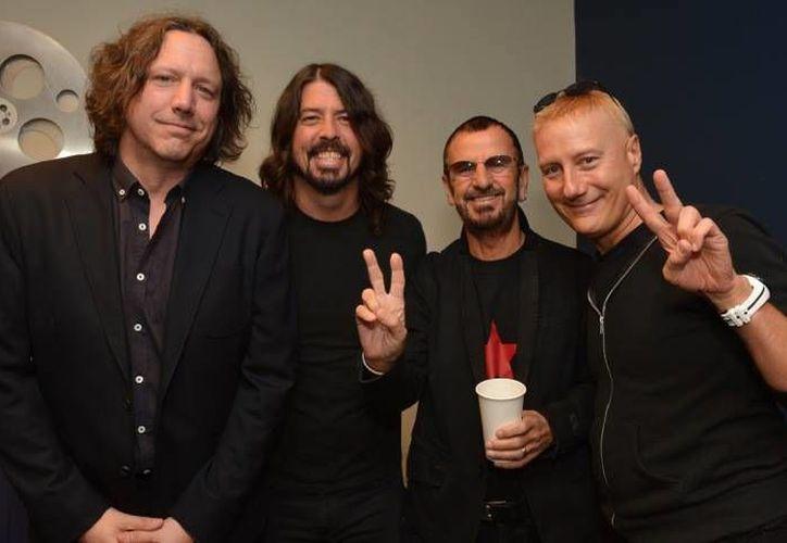 En 2011 el exbaterista del cuarteto de Liverpool (tercero de izquierda a derecha) ofreció su primer concierto en el Coloso de Reforma. (Facebook oficial)
