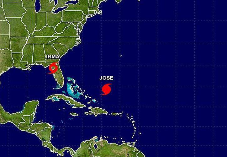 Irma atravesaría la zona noroeste de Florida y pasaría al sur de Georgia más tarde en el día. (Excelsior)