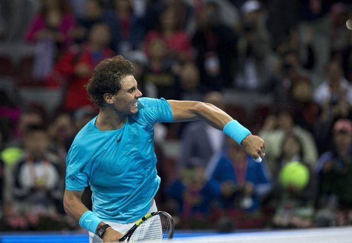 El español Rafael Nadal no tuvo grandes problemas para derrotar a su oponente en el Abierto de China.