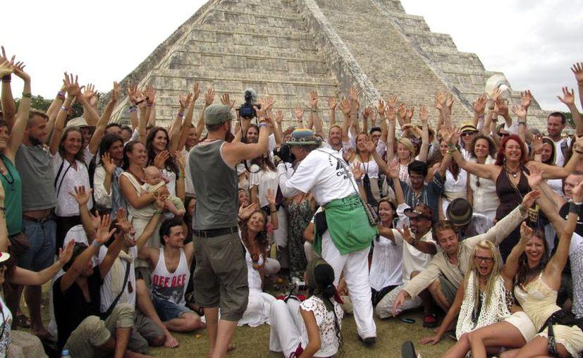 El supuesto fin del mundo atrajo las miradas hacia la cultura maya. (Mario Escalante/SIPSE)
