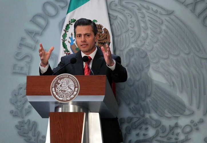 El Presidente dijo que se redoblarán esfuerzos para que 2014 sea un mejor año para México. (Notimex)