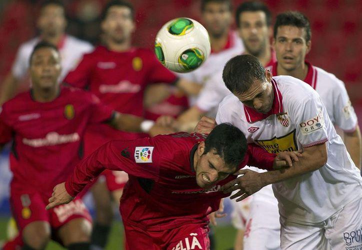 El Mallorca de Gio quedó con un pie fuera de la Copa del Rey. (Foto: Agencias)
