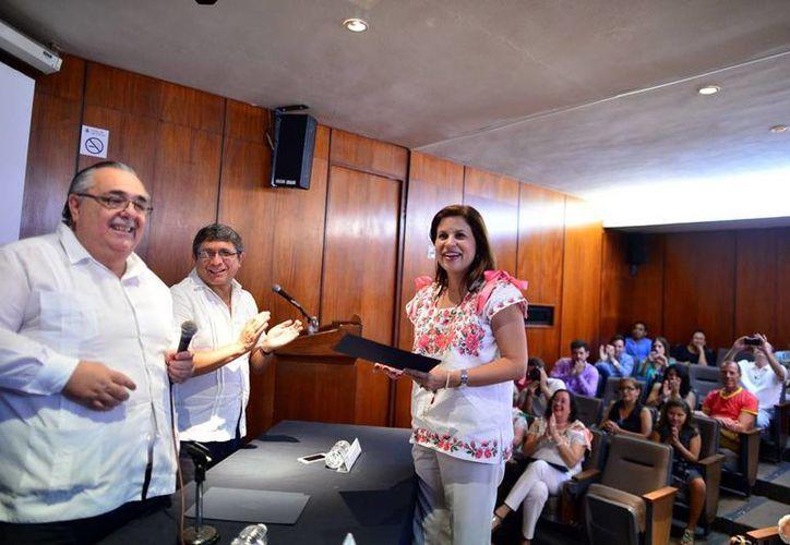 Beatriz Vales García hizo un llamado a conservar una Mérida digna. (Milenio Novedades)
