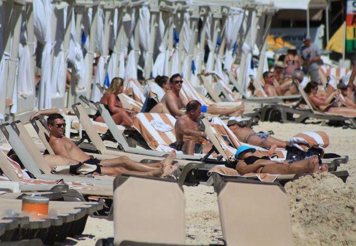 La ocupación hotelera en Playa del Carmen se encuentra cercana al 80 por ciento. (Adrián Barreto/SIPSE)