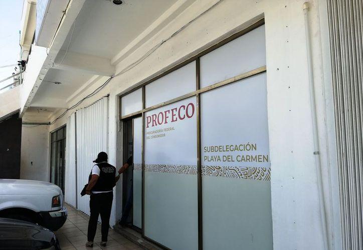 Las actuales oficinas de la Profeco en Playa del Carmen se encuentran en la calle 8, entre las avenidas 20 y 25, de la colonia Centro. (Octavio Martínez/SIPSE)