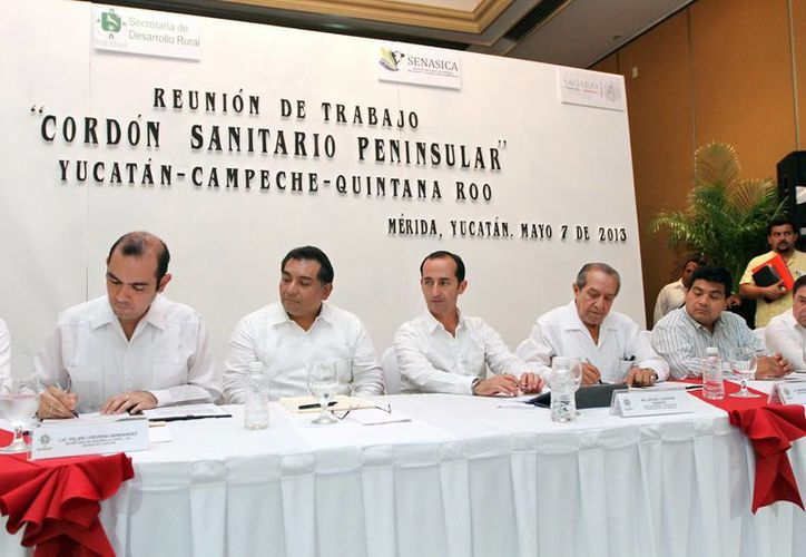 En el evento se realizó la firma del Acuerdo Específico para el Control de la Movilización Agropecuaria Nacional. (Cortesía)