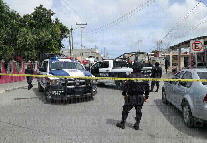 Las actividades de los grupos delictivos se registraron en varios puntos de la ciudad. (Eric Galindo/SIPSE)