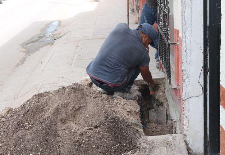 Los habitantes dependen de algunas cubetas para su consumo. (Javier Ortiz/SIPSE)