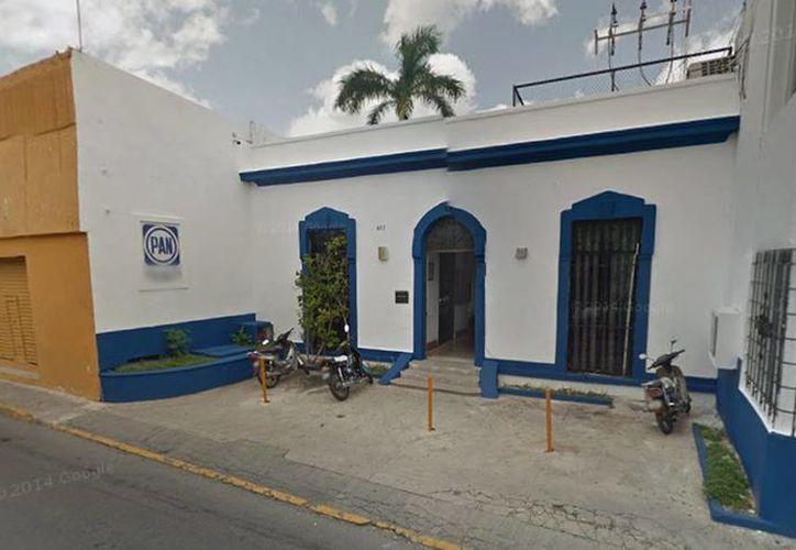 Raúl Paz Alonzo informó que las casillas abrieron a tiempo y que los panistas acuden con fluidez a las urnas. Imagen del local del Comité directivo municipal del PAN. (Google maps)