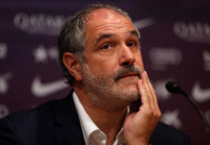 El exportero del Barcelona, Andoni Zubizarreta (foto), ya no es más parte del club, quien decidió romper toda relación laboral con el hasta hoy director de Futbol. (Archivo /EFE)