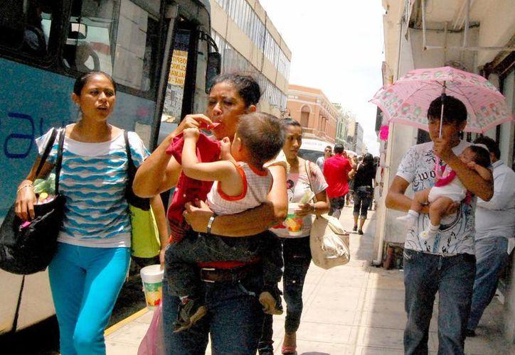 Los yucatecos seguirán soportando fuerte calor y humedad. (Wilberth Argüelles/SIPSE)