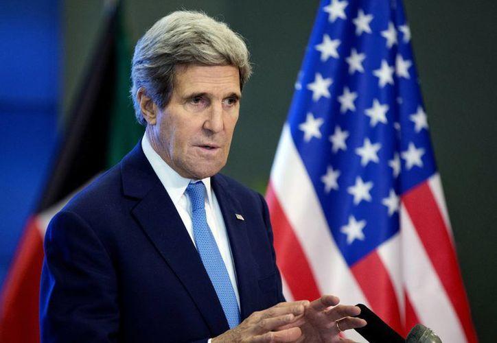 John Kerry culpó directamente al presidente sirio Bashar Al-Assad de dejar morir de hambre a su pueblo y de bloquear el acceso para los trabajadores de ayuda internacional. (Agencias)