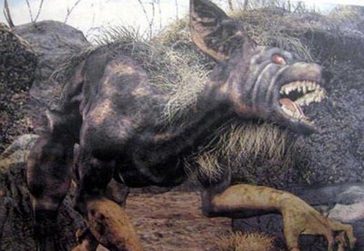 """De esta forma describieron al perro """"maligno"""" que embrujó al policía. (Jorge Moreno)"""