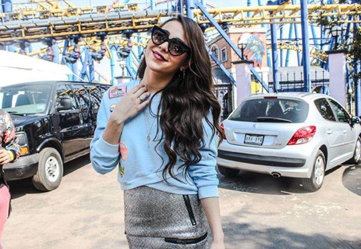 Danna Paola, cantante y actriz, tiene ofertas de varias empresas; asegura que no ha firmado con TV Azteca. (NTX/Archivo)
