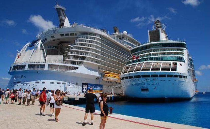 Se espera la llegada de 17 navíos a la Isla de las Golondrinas y 1 a Mahahual.(Redacción/SIPSE)