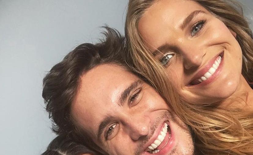 Diego Boneta y Mayte Rodríguez ya dejaron de ocultar su romance. (Instagram)