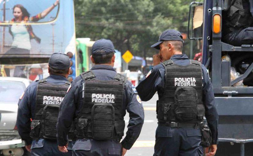 El subinspector de la PF fue identificado como el cabecilla de los delincuentes. (Archivo/Notimex)