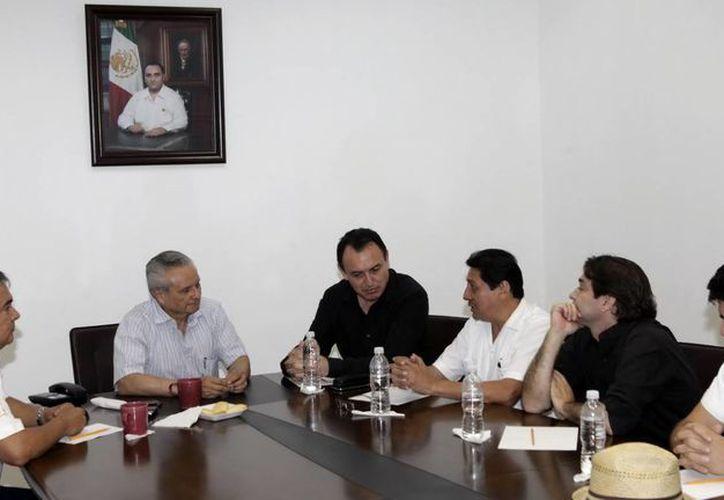 El acto protocolario fue encabezado por Víctor Alcérreca Sánchez, titular del Consejo Quintanarroense de Ciencia y Tecnología (Coqcyt). (Redacción/SIPSE)