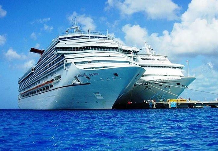 Majahual recibirá apenas 40 cruceros más que en 2012. (Tomás Álvarez/SIPSE)