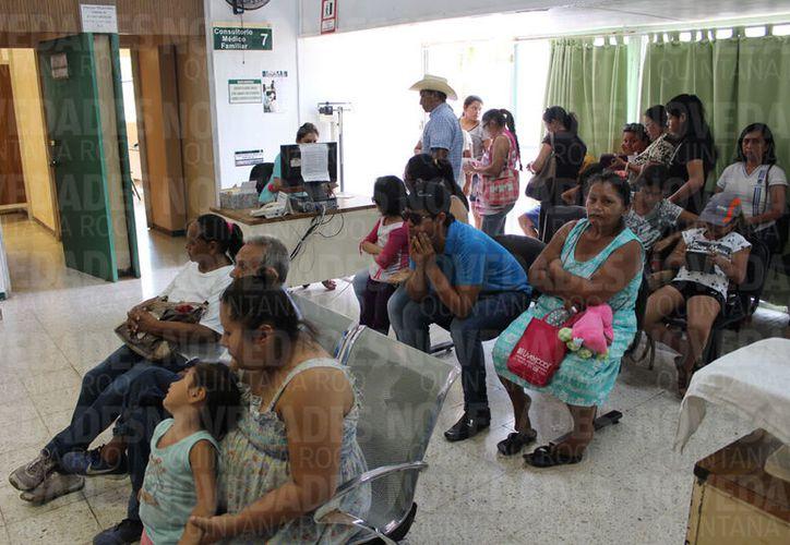 El 87.2% de la población está afiliada al Seguro Popular, IMSS e Isste, entre otros. (Joel Zamora/SIPSE)