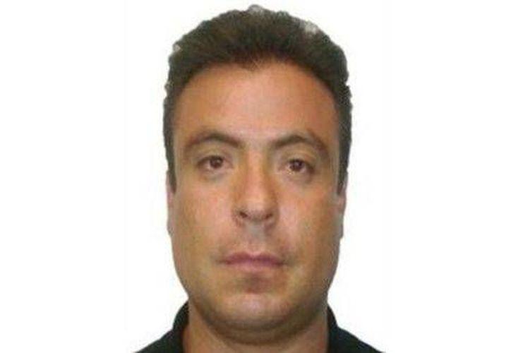 Fabián España, presunto agresor de la senadora Ana Gabriel Guevara. (Milenio)