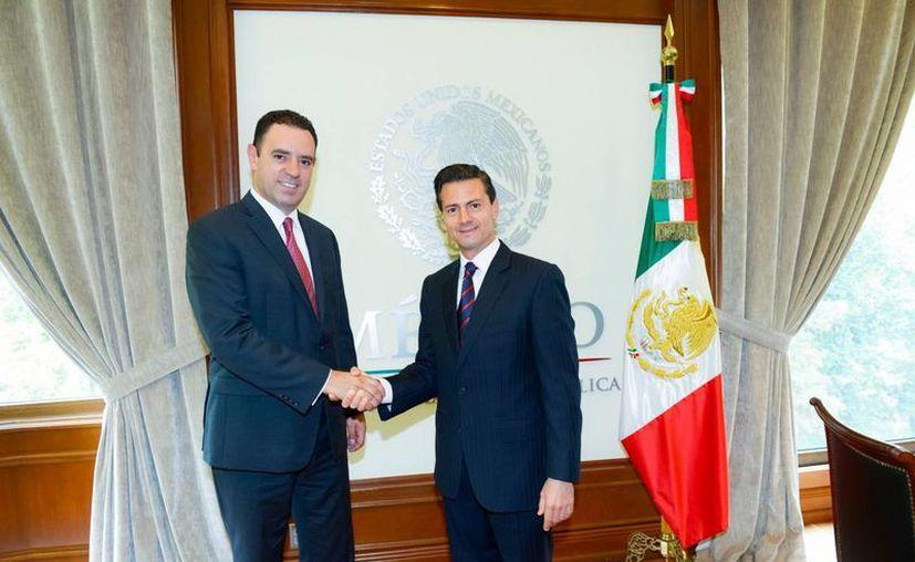 Alejandro Tello Cristerna ocupará la gubernatura de Zacatecas el próximo 12 de septiembre. (Notimex)