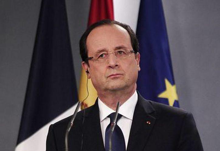 El presidente de Francia, Francois Hollande, entablará con su homólogo Enrique Peña Nieto temas sobre educación, formación, cultura, investigación, innovación y salud. (Notimex/Archivo)