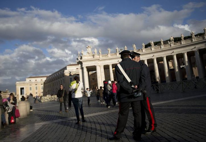 El Vaticano está prácticamente sitiado. (Agencias)