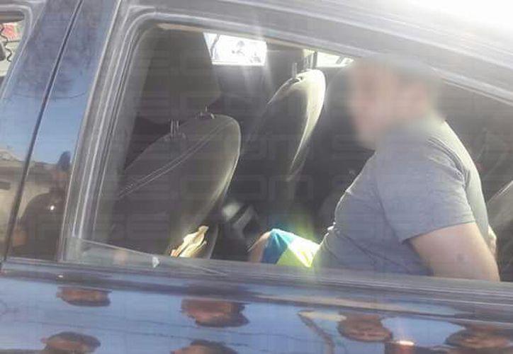 El extranjero detenido se encontraba en estado de ebriedad. (SIPSE)