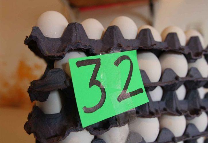 El precio del huevo se ha mantenido estable. (Notimex)