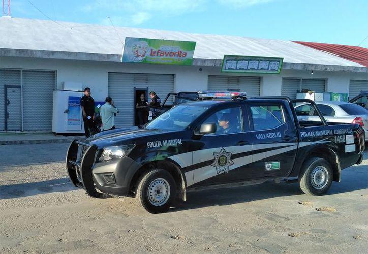 Los hechos se presentaron en una tienda del fraccionamiento San Isidro ll, en Valladolid. (SPSE)