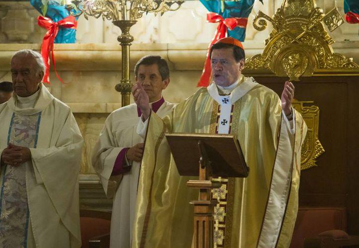 En su homilía dominical, el Cardenal dijo que la actual cultura exalta la productividad. (Notimex)