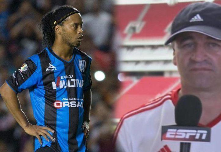 Ronaldinho, con su primer gol en el Futbol Mexicano y un pase para gol, extendió la amarga campaña de Chivas y de su entrenador Carlos Bustos. (espn.go.com)