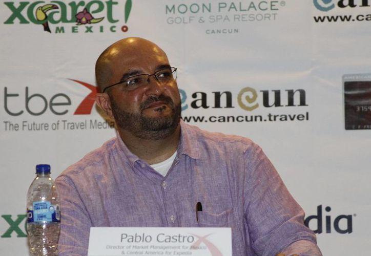 Pablo Castro habló sobre el crecimiento de ventas para México. (Sergio Orozco/SIPSE)
