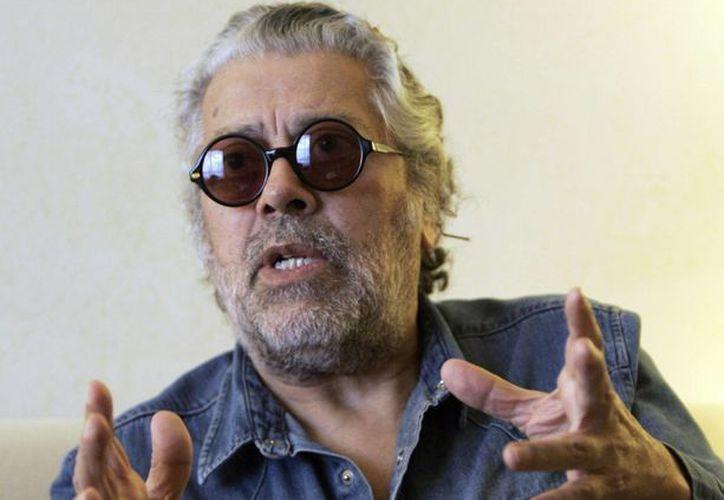 Un tribunal en Guatemala condenó este jueves a cinco personas por el asesinato a balazos cometido contra el cantante argentino Facundo Cabral en 2011. En la foto aparece Cabral durante una entrevista en agosto de 2008. (AP)