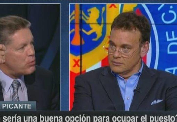 Ricardo Peláez estalló contra David Faitelson en programa en vivo. (Captura pantalla/ESPN)