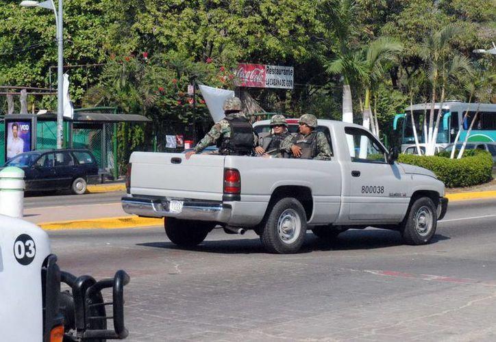 Esta es la segunda ocasión en seis meses en que se ve a efectivos de la Marina en el valle de Toluca. (Archivo/Notimex)